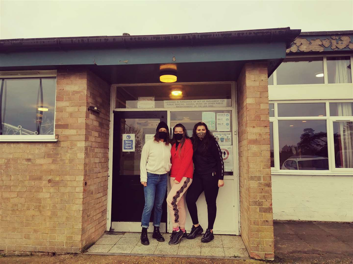 Clever Clogs staff, from left, Jess Bridge, Millie McGuirk and Lily Webb. (43904865)