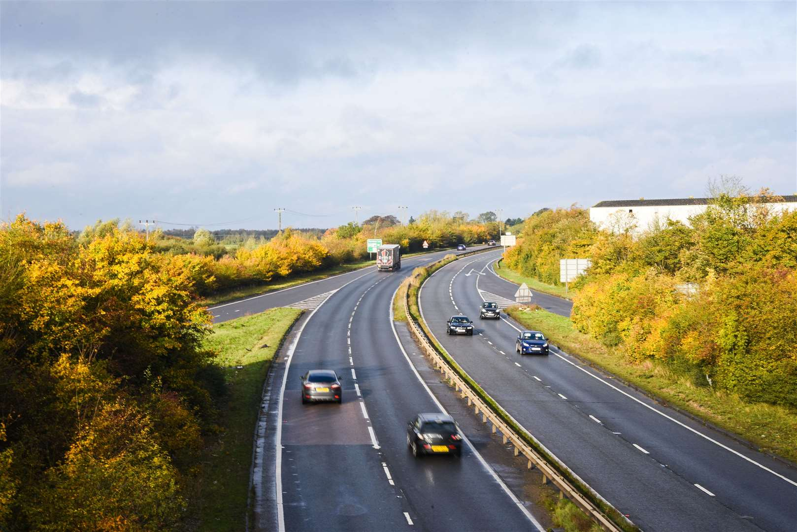 The proposed depot is intended to help keep key routes like the A47 open.