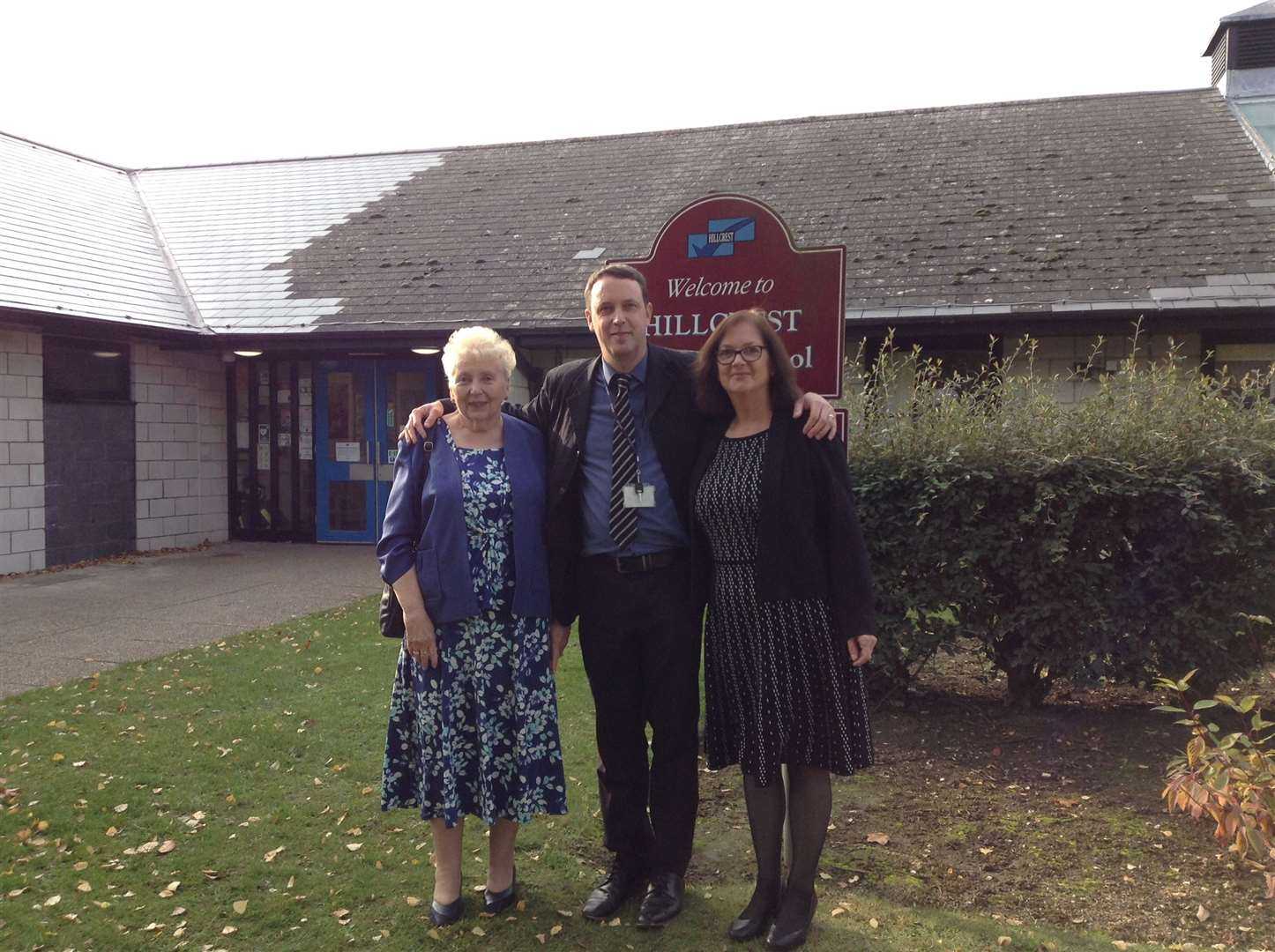 Hillcrest Primary School's 40th birthday celebrations - the three headteachers, from left, Betty Lunn, Matthew Try and Linda Howling. Picture: SUBMITTED. (20944969)