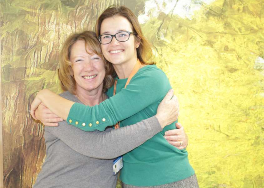 Eileen Smedmor and Amy Burger. Photo: SUBMITTED.