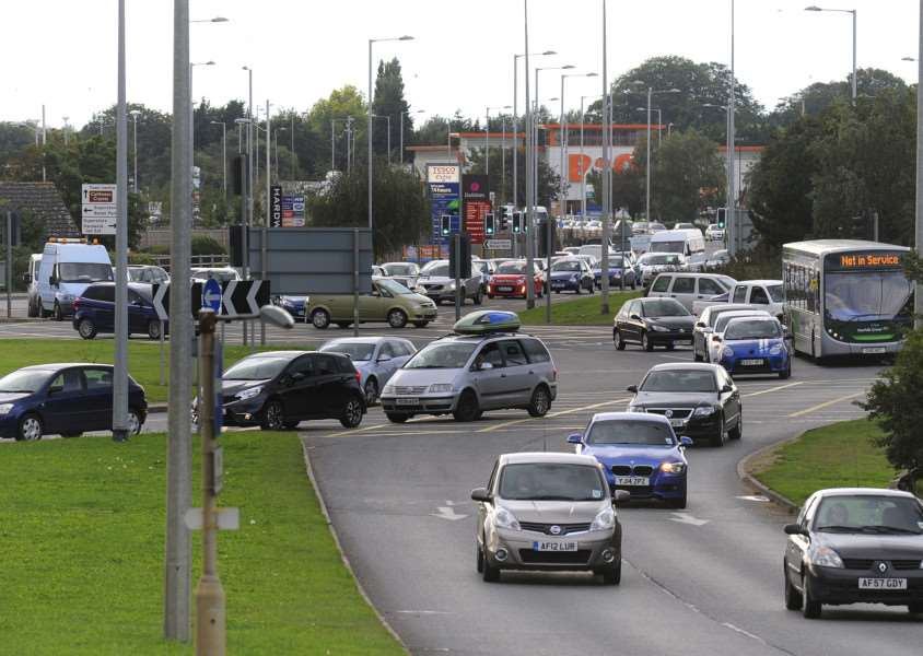 Roadworks will partially close Lynn's Hardwick roundabout tonight and tomorrow night
