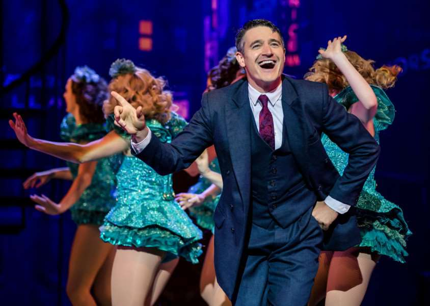 Tom Chambers stars in Crazy for You