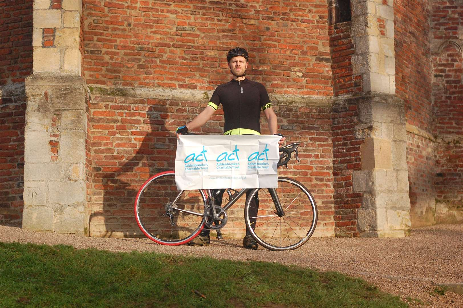 Charles Napolitano is cycling from Land's End to John O'Groats in aid of Addenbrooke's Hospital Transplant Unit. Picture: SUBMITTED (43974477)
