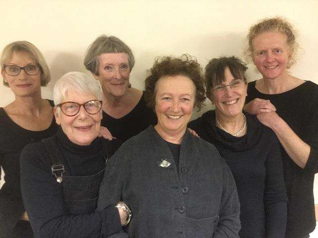 Momentous Times cast: From left, Vanessa Dupont, Lesley Mardle, Leah Spencer, Irma Fowler, Jane Cooper and Katherine Shaw (5252619)