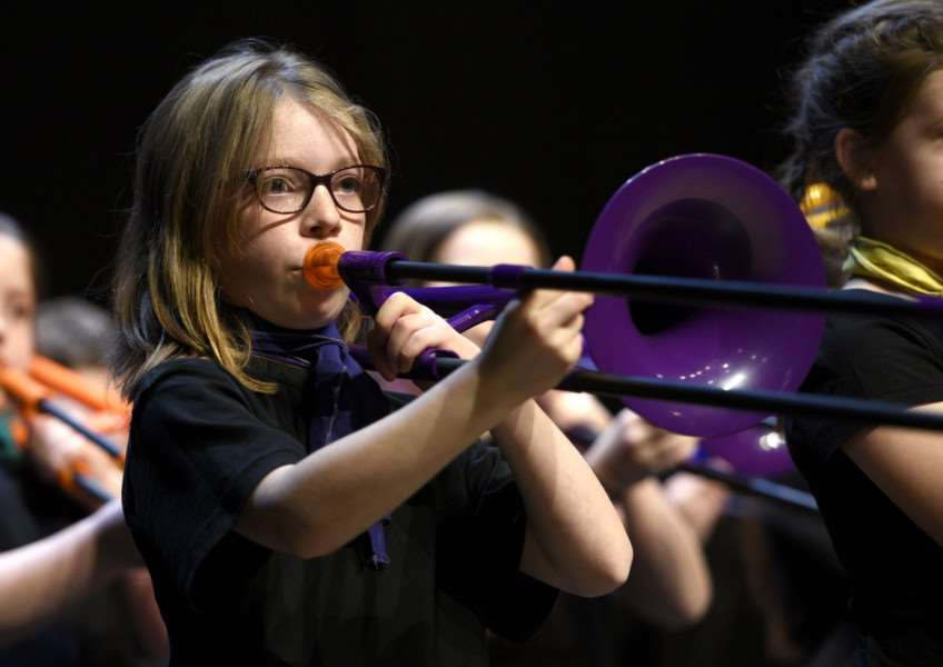 School's Make Music at The Lynn Corn Exchange''Greyfriars Primary
