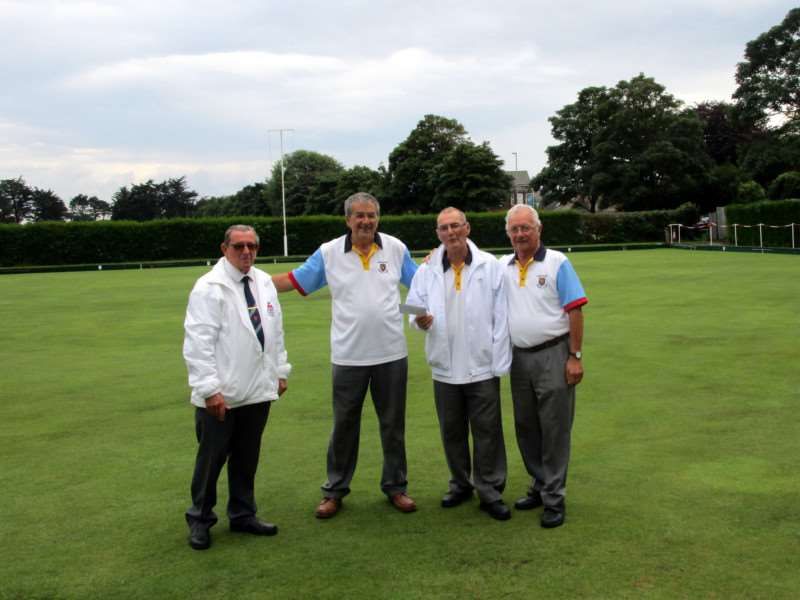 Dersingham Institute bowls club charity day]