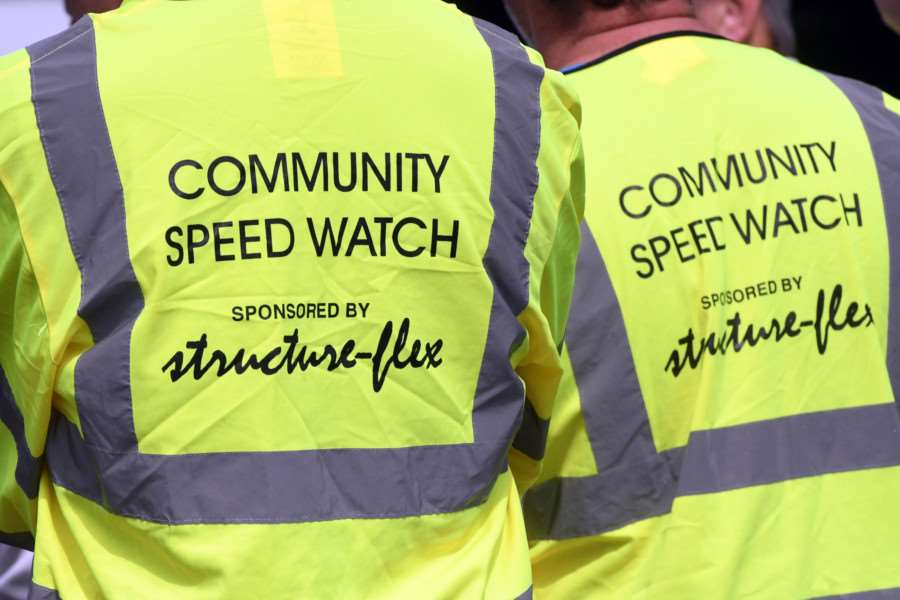 Community leaders are hoping speed warning signs can help the work of local Speedwatch campaigners