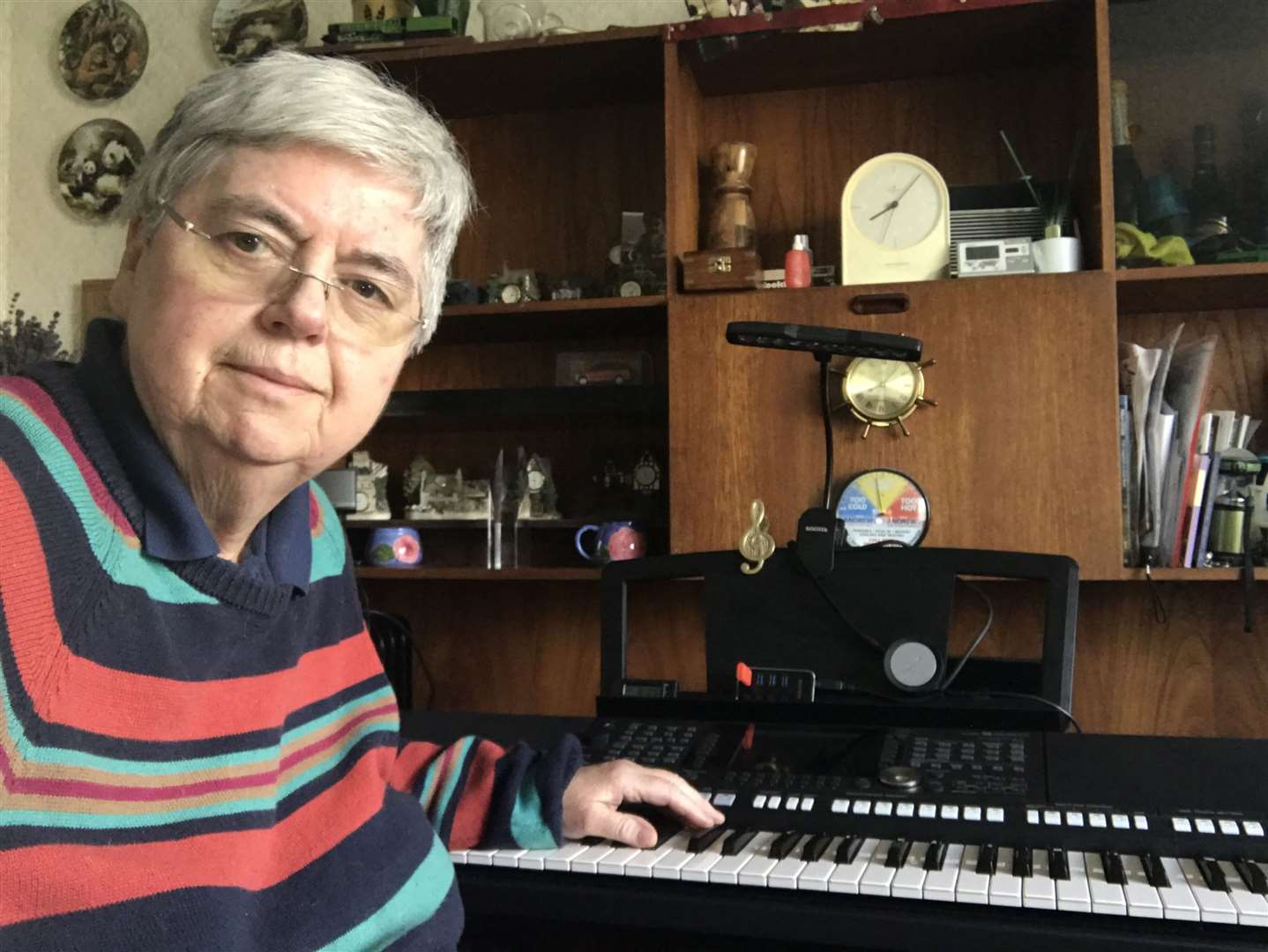 Noelle Scott, of Narborough, who is preparing for a charity music marathon