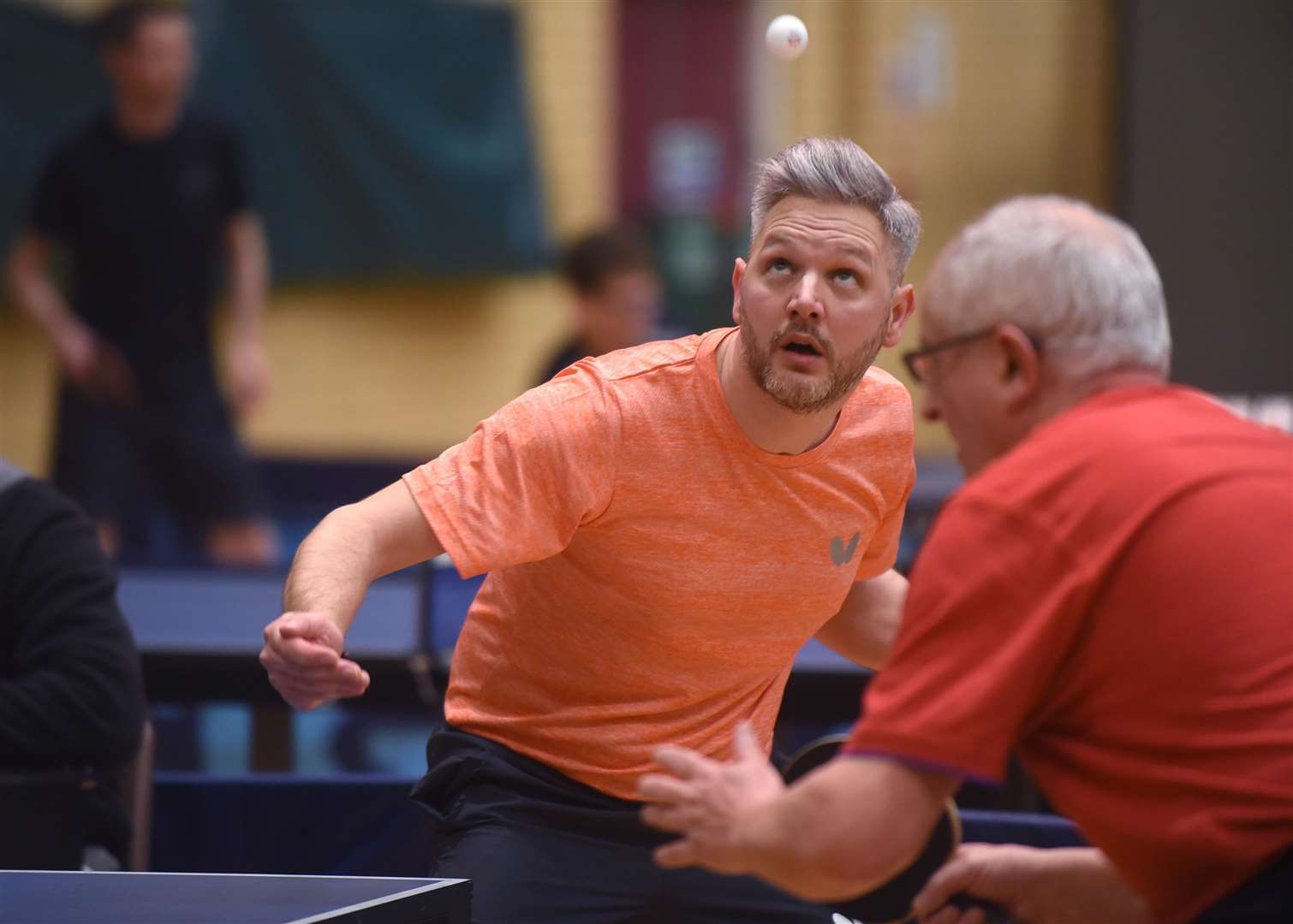 Kings Lynn Table Tennis Championships....Wayne Mason. (6933925)
