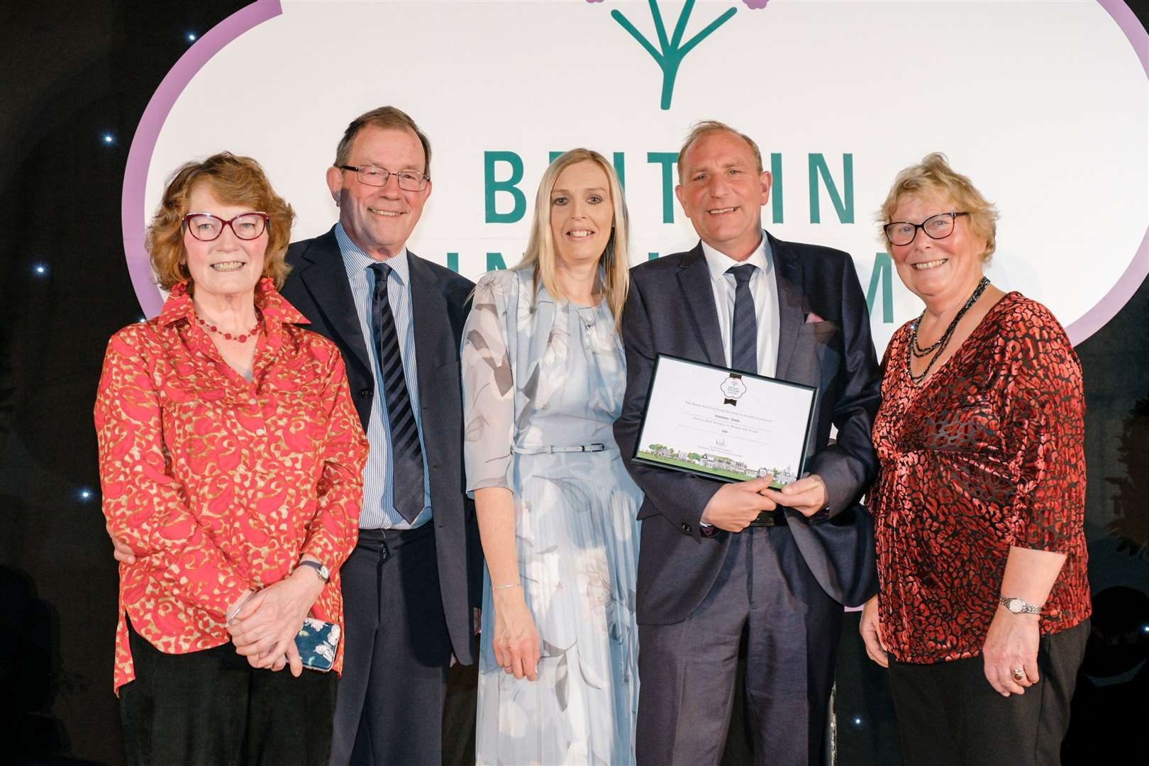 RHS Britain in Bloom Awards 2019 where Hunstanton won the Gold Award in the Coastal Category