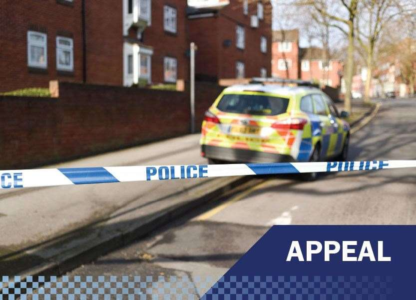 Police are appealing for information after a van failed to stop for officers at Fakenham