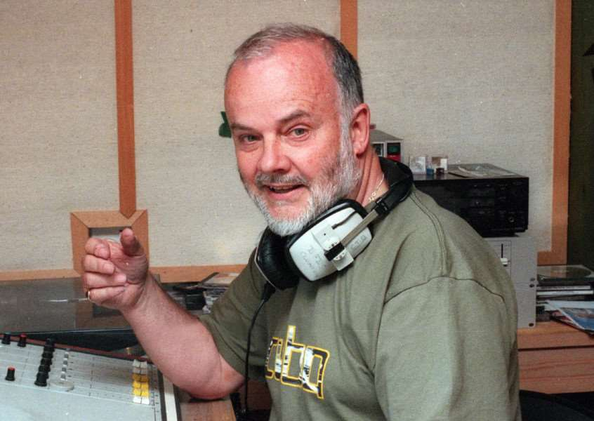 File picture of John Peel dated June 1998''Picture Andy Abbott''''NEG 237916'ES 12 11 05'ES 24 02 06'ES 27 09 06
