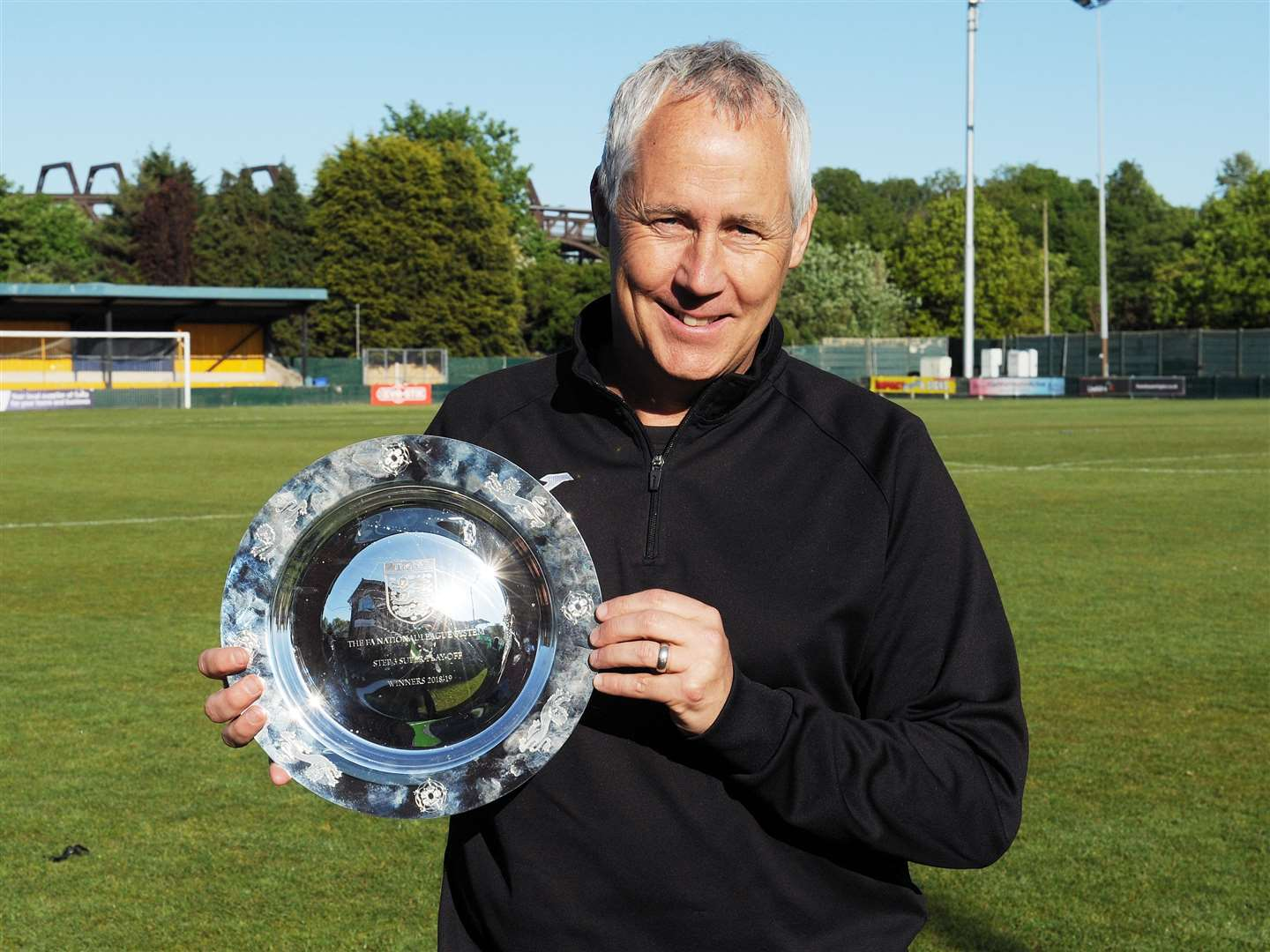 Manager Ian Culverhouse. Picture: Tim Smith (10183118)