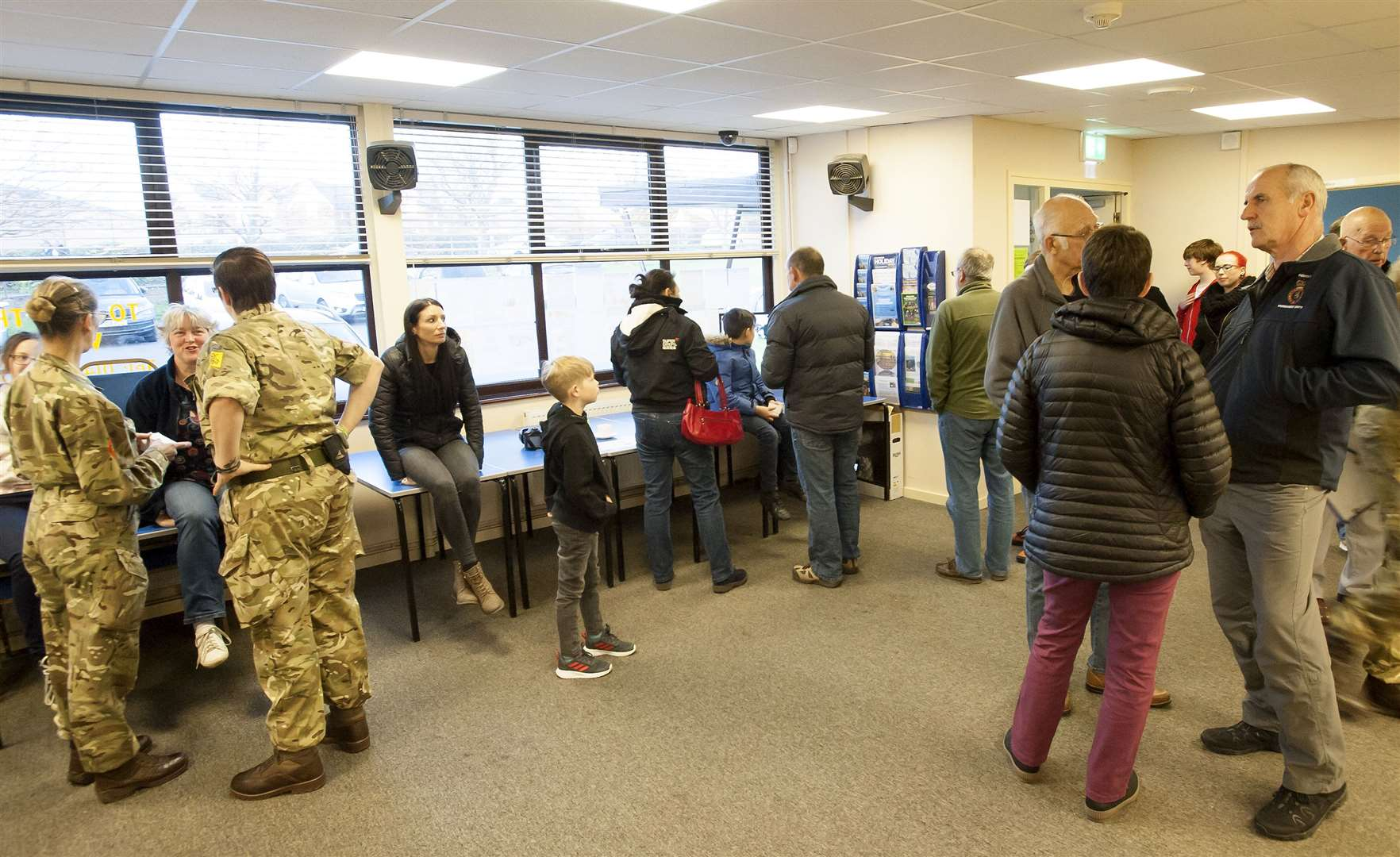 An open night at Hunstanton Community Centre