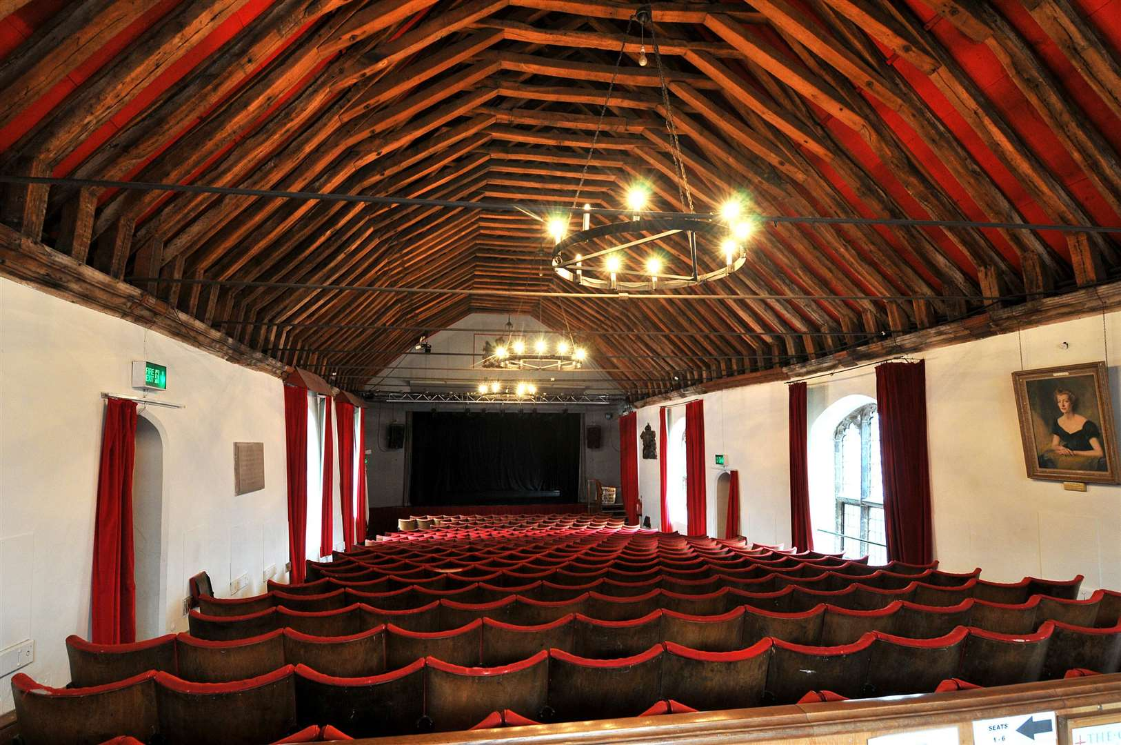 King's Lynn Arts Centre - St George's Guildhall. (3538190)