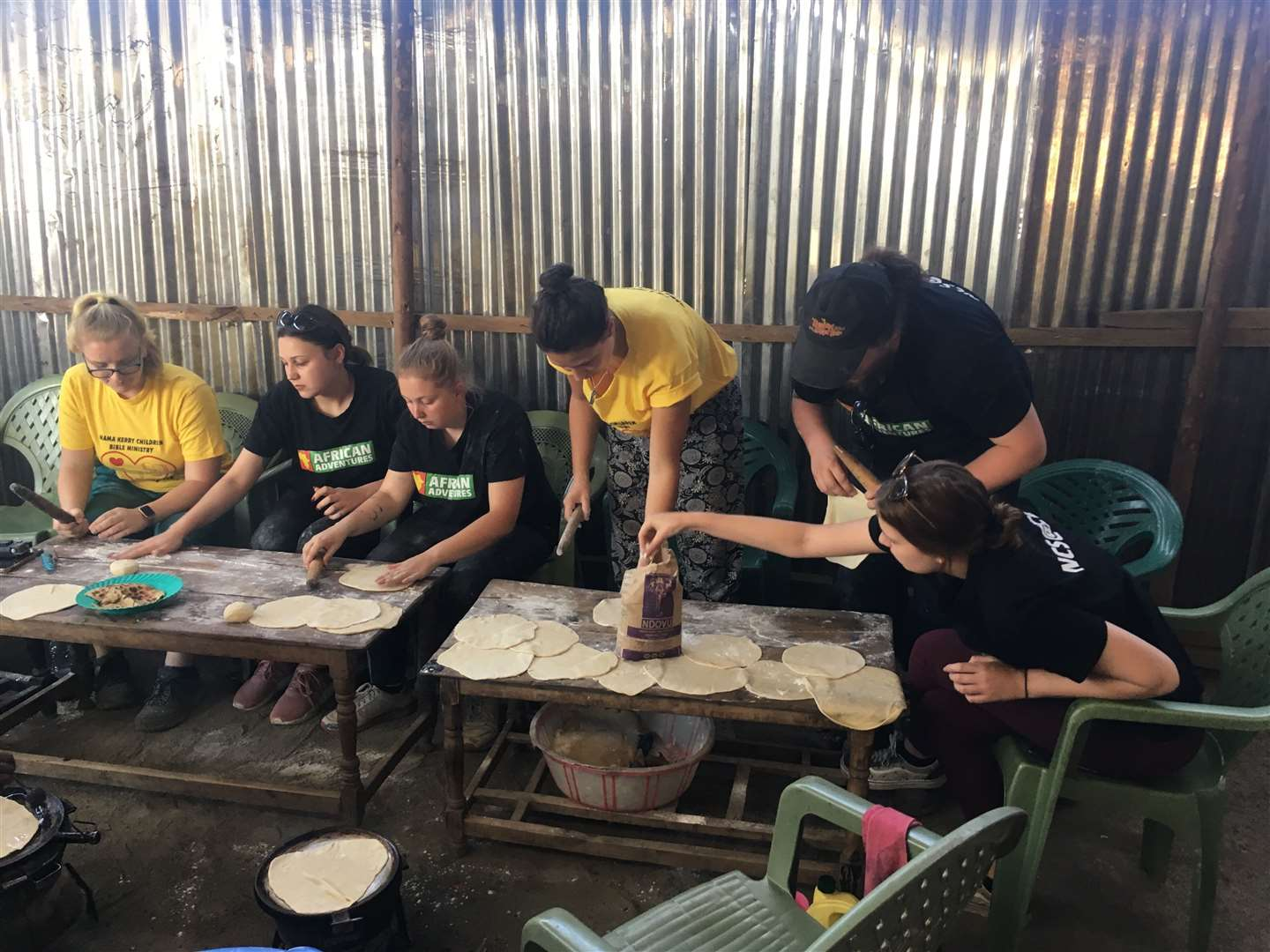 College of West Anglia students working with Mama Kerry in Kenya (10430630)