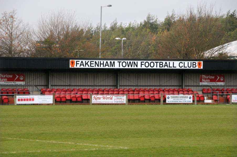 Fakenham - Fakenham Town Football Club Clipbush Park