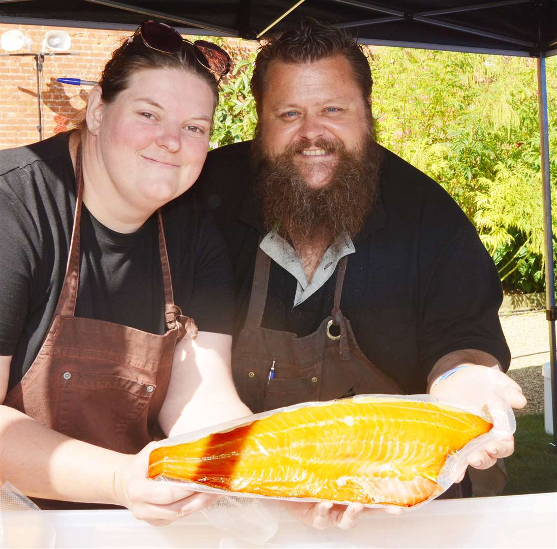 Phillip and Fran Hartshorne of Staithe Smokehouse(16130307)