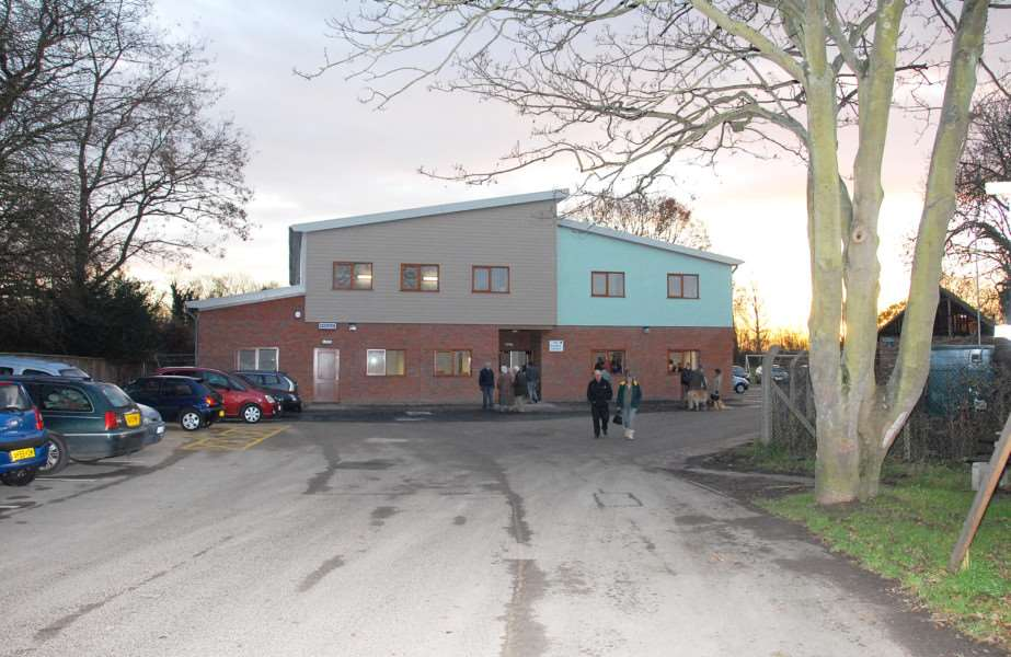 The Curlew Centre, where Sutton Bridge Parish Council meets.