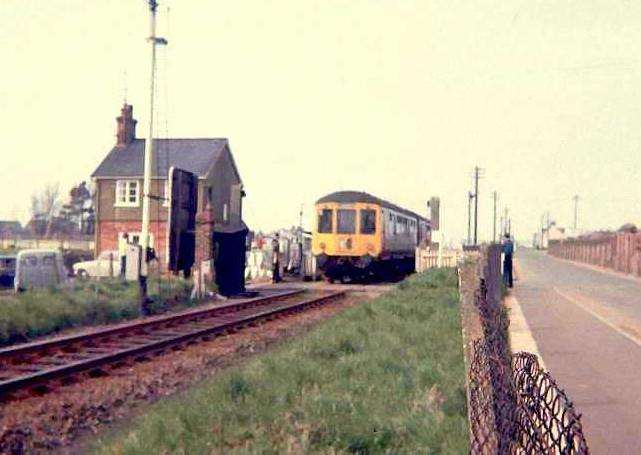 Hunstanton rail link; last train