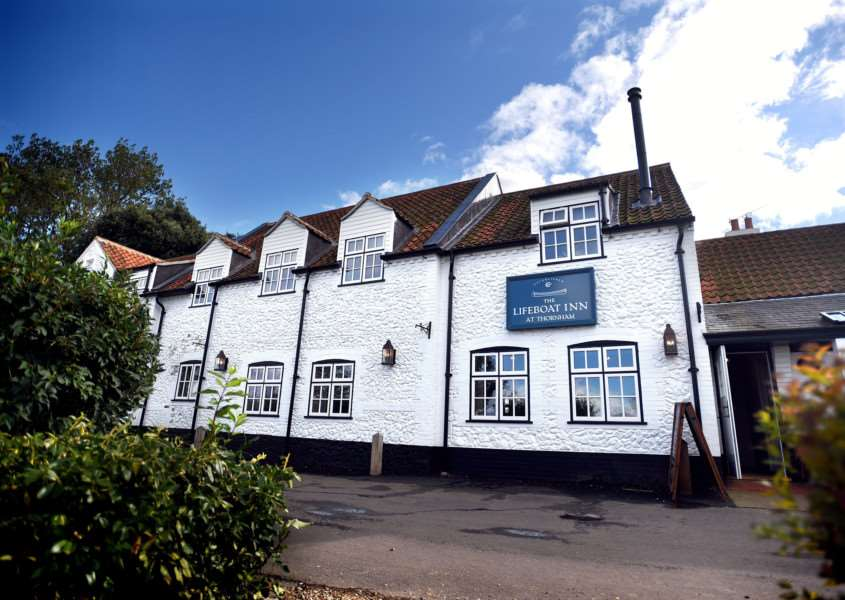 The Lifeboat Inn in Thornham