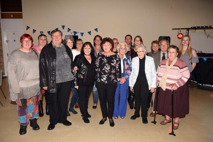 Downham Amateur Swimming Club 40th anniversary celebration at Jubilee Community Centre''Current and Past Committee Members