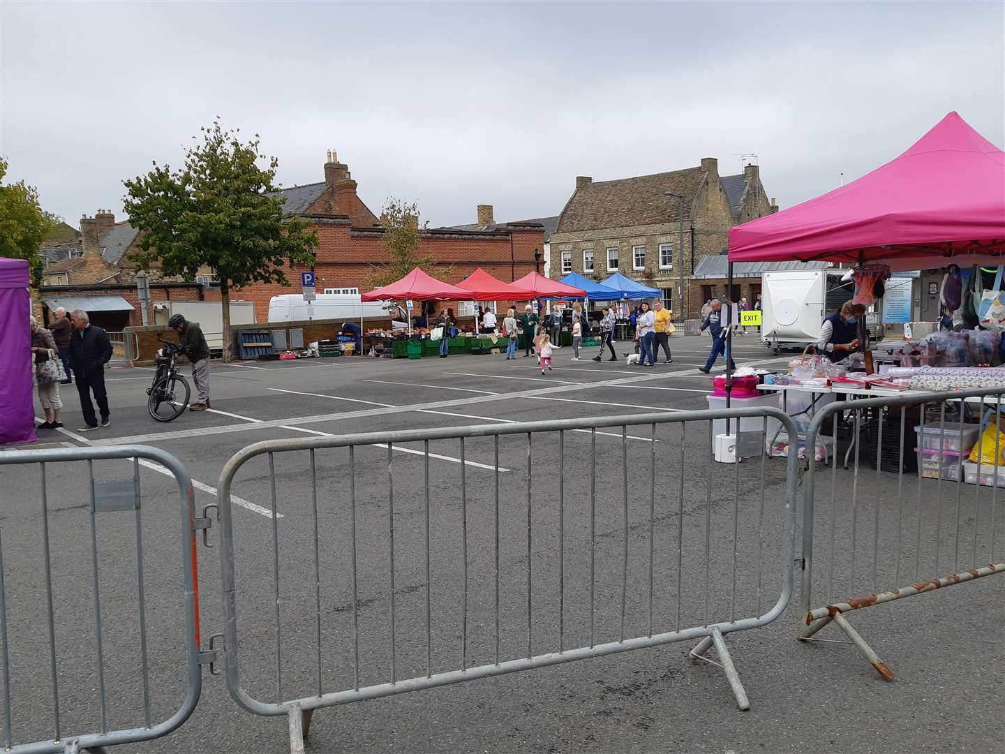 The market in Downham earlier today (Friday, August 28) (41433607)