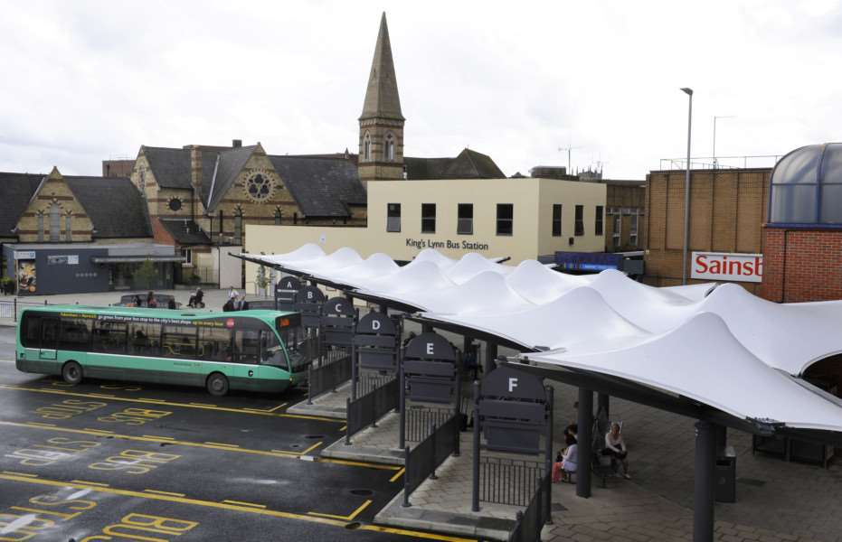 King's Lynn Bus Station Official Opening