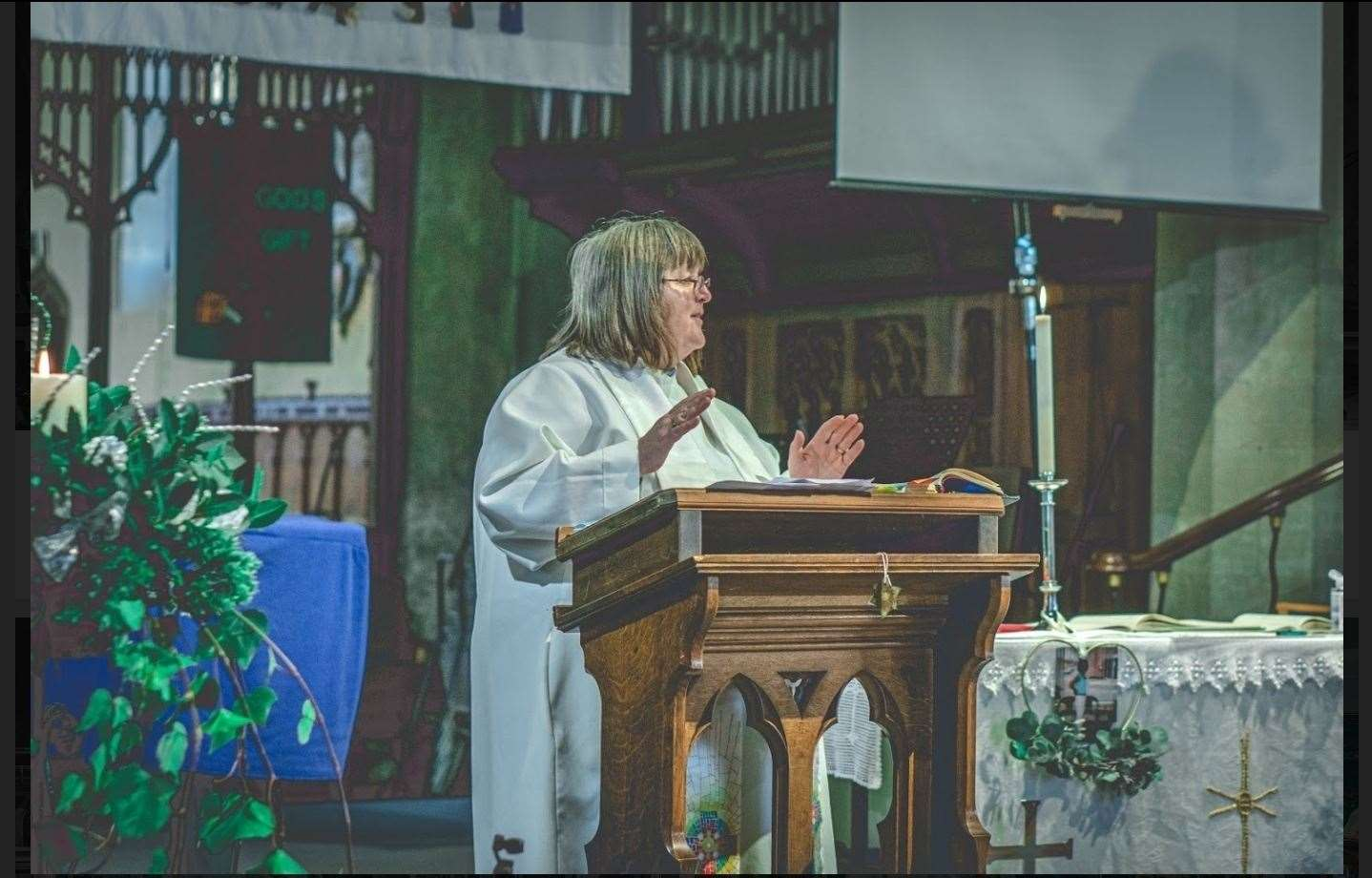 Rev Veronica Wilson made the unthinkable possible. Picture: SUBMITTED