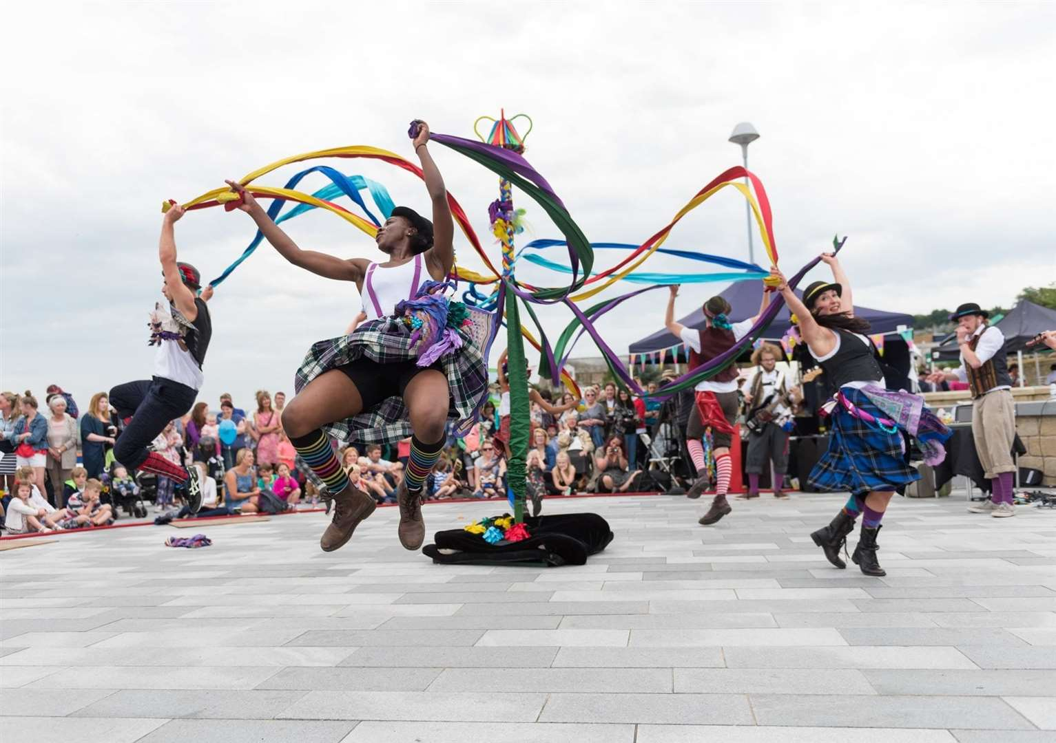Folk Dance Remixed, who will be performing at Hunstanton's Blossom Day