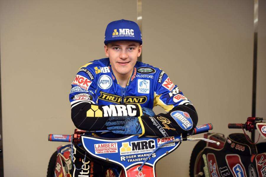 Kings Lynn Speedway press day'Robert Lambert