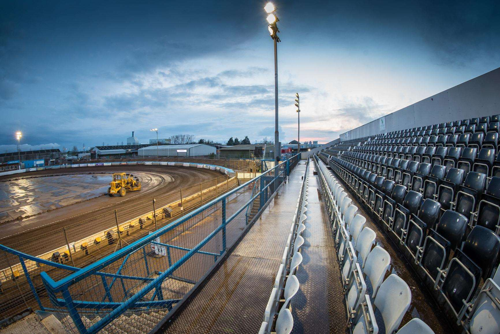 The Adrian Flux Arena - home of King's Lynn Speedway