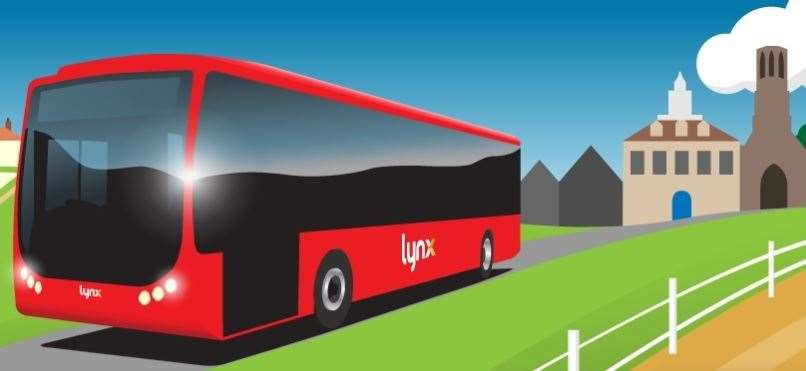 Lynx operates local bus services in West Norfolk (42670459)