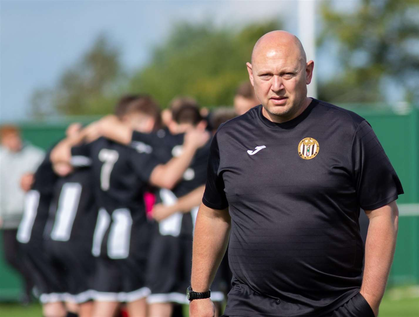 Swaffham Town manager Paul Hunt. Picture: EDDIE DEANE