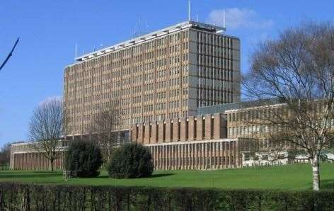 Norfolk County Council headquarters where Fairstead Surgery was discussed today
