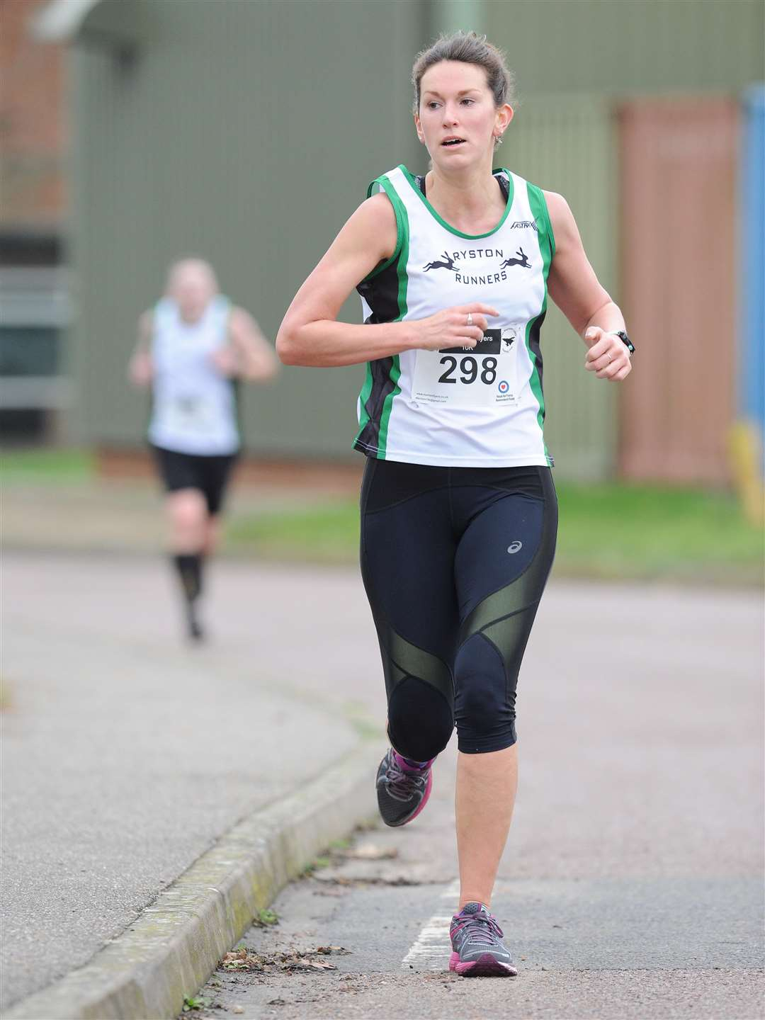Amy Jane Chapman in action at the Marham Flyers New Year's Eve 10k race. Picture: TIM SMITH