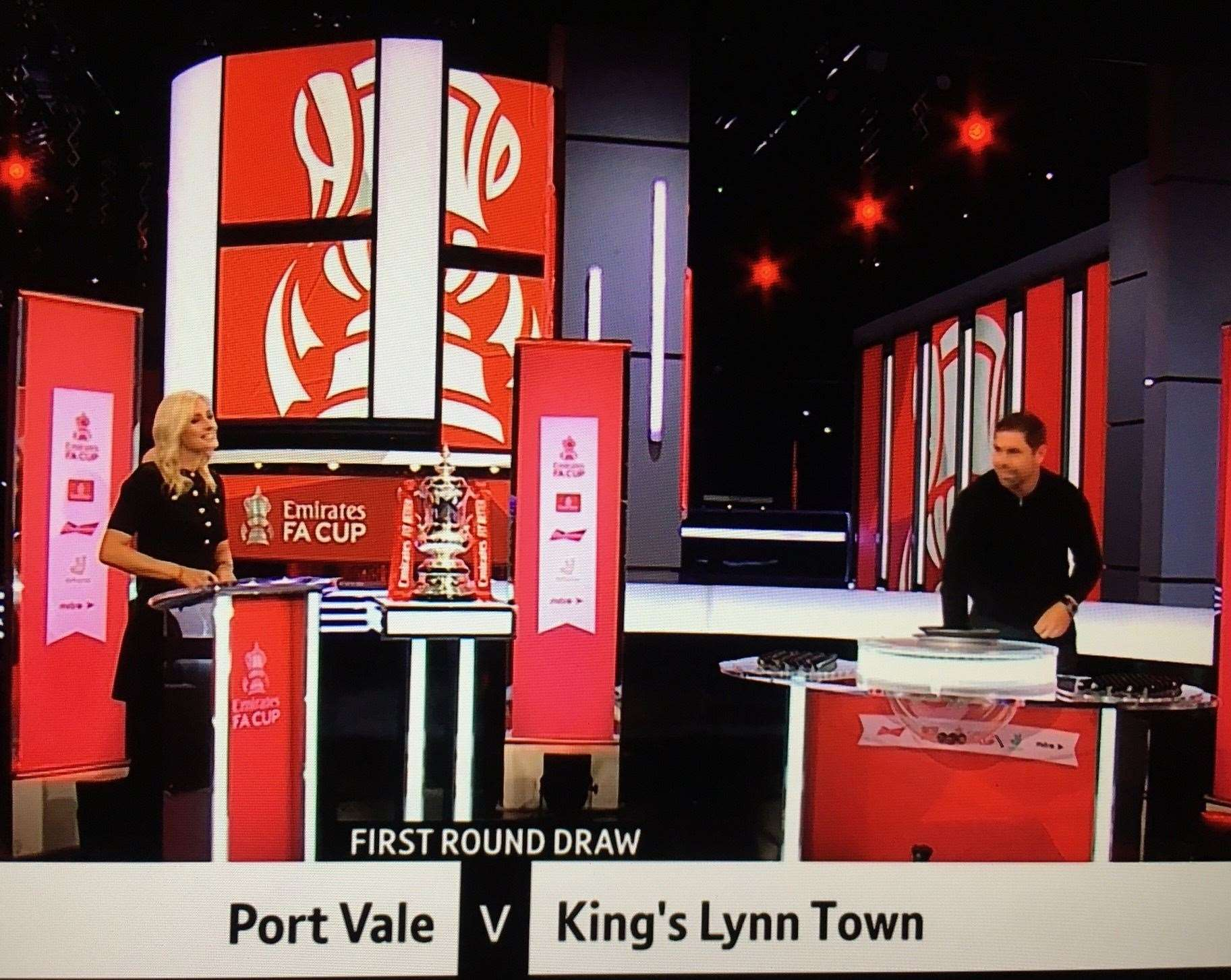 FA Cup: King's Lynn Town drawn away to League Two Port ...