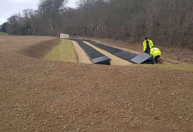 Pioneering solar system designed by The Solar Shed Ltd of Magdalen installed at Burnham Market