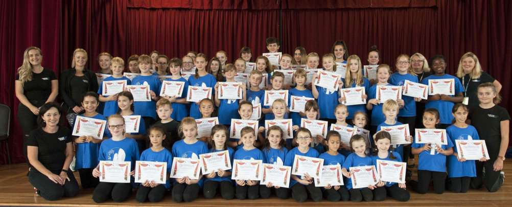 Achievement of some King's Lynn Stage School Students.