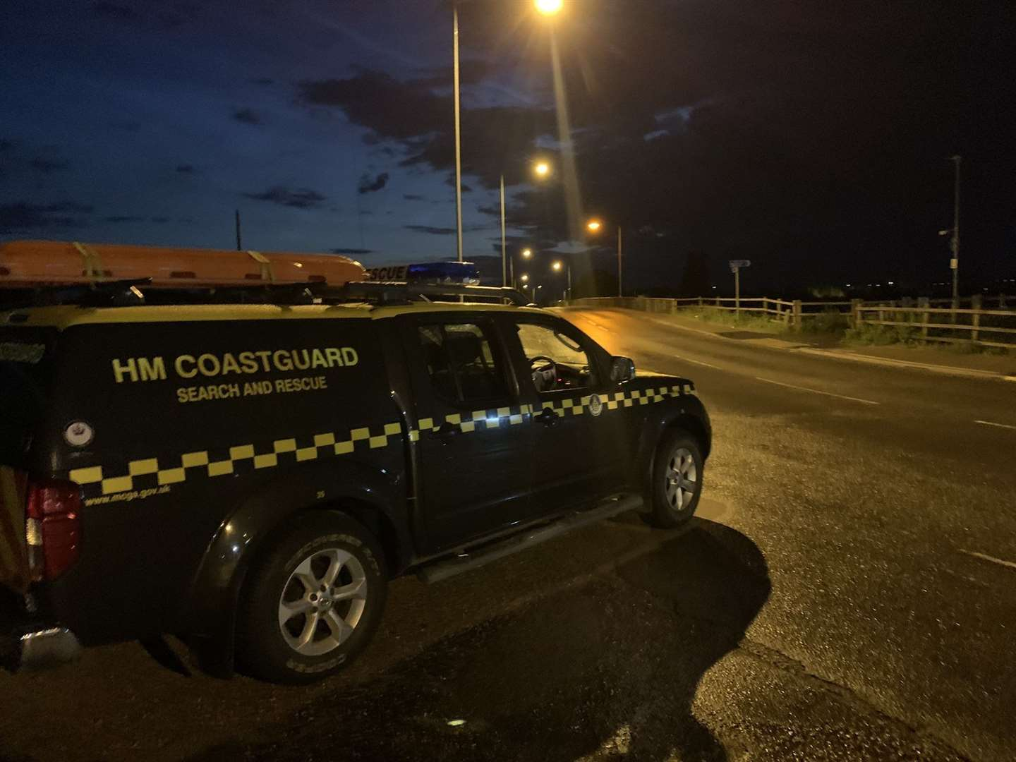 Sutton Bridge Coastguard at an incident in King's Lynn on Friday, June 26 (37358423)