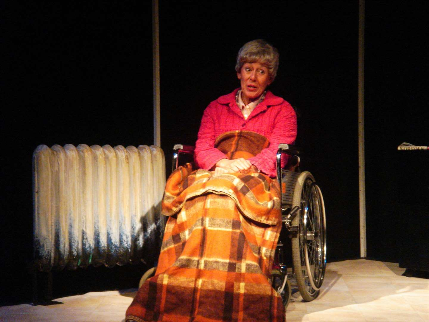 Issy Huckle as Peggy in A Woman of No Importance at the Westacre Theatre