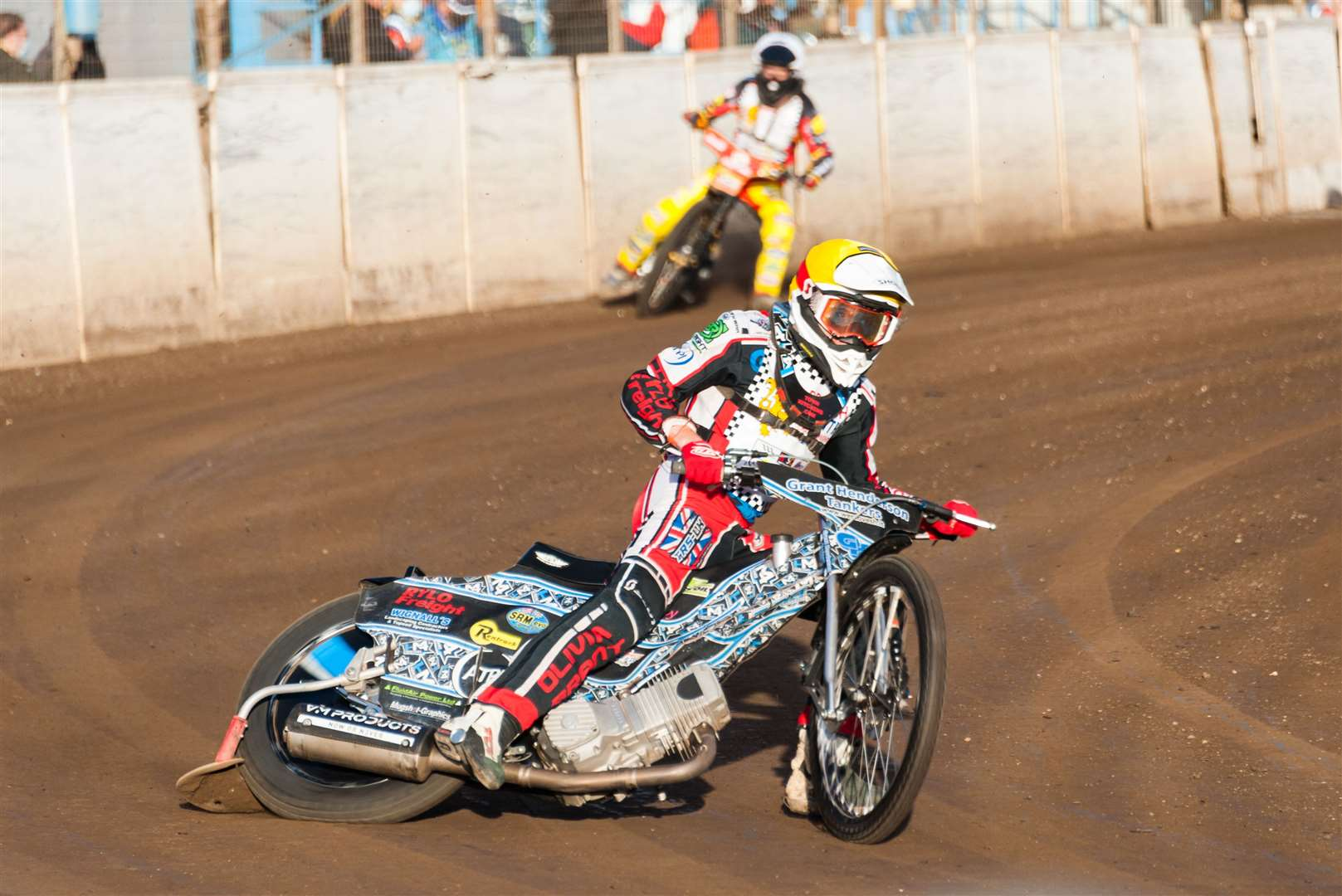 Round Three of the British Youth Championship was held at the Adrian Flux Arena.. (41603361)