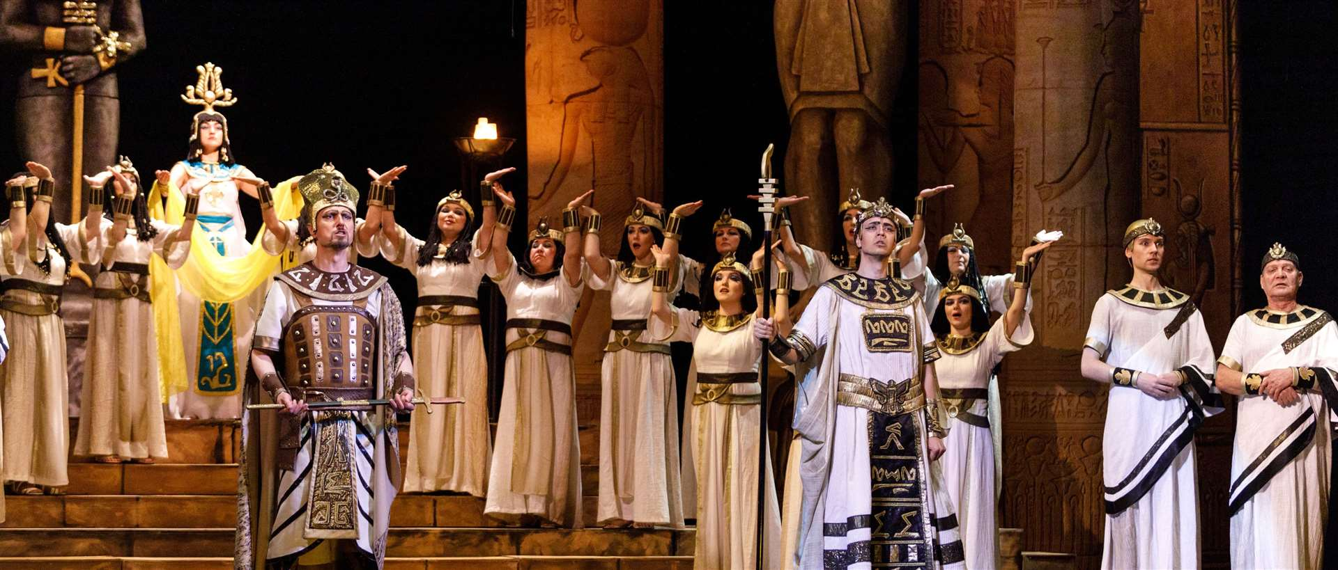 Russian State Opera performs Aida