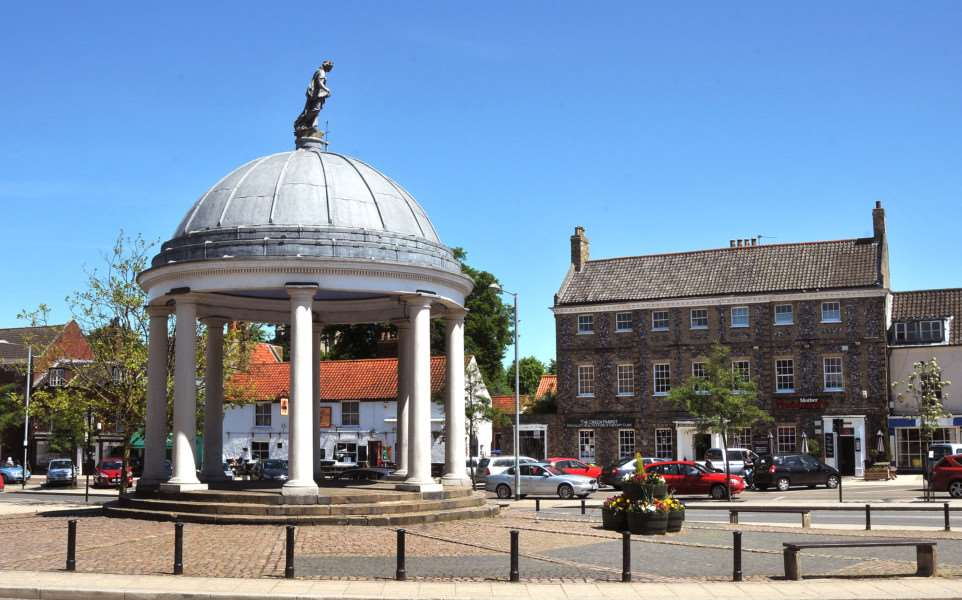 The Buttercross in Swaffham.
