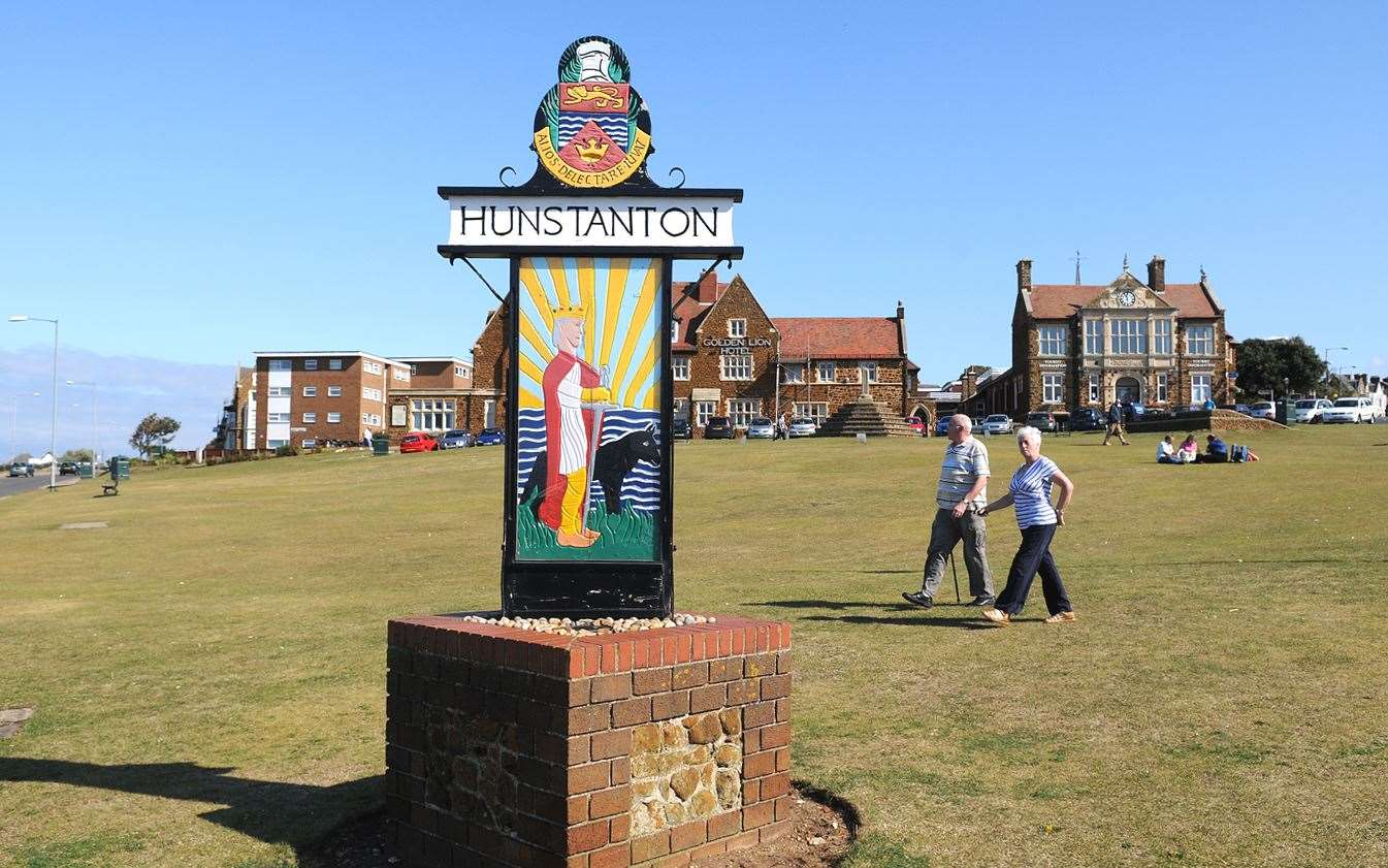Hunstanton Green will be the place put picnic blankets down and to settle in for an outdoor film