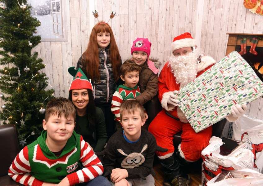 Providence Street Santa's Grotto and Christmas Party