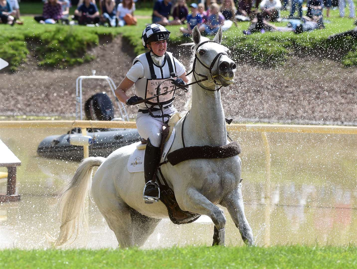 Houghton Horse Trials..Emma Manton riding Tullamore Dew II... (11187896)