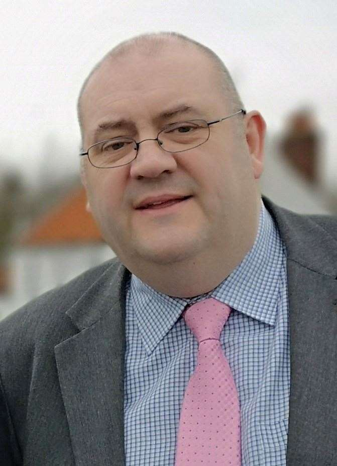 West Norfolk Council leader Brian Long