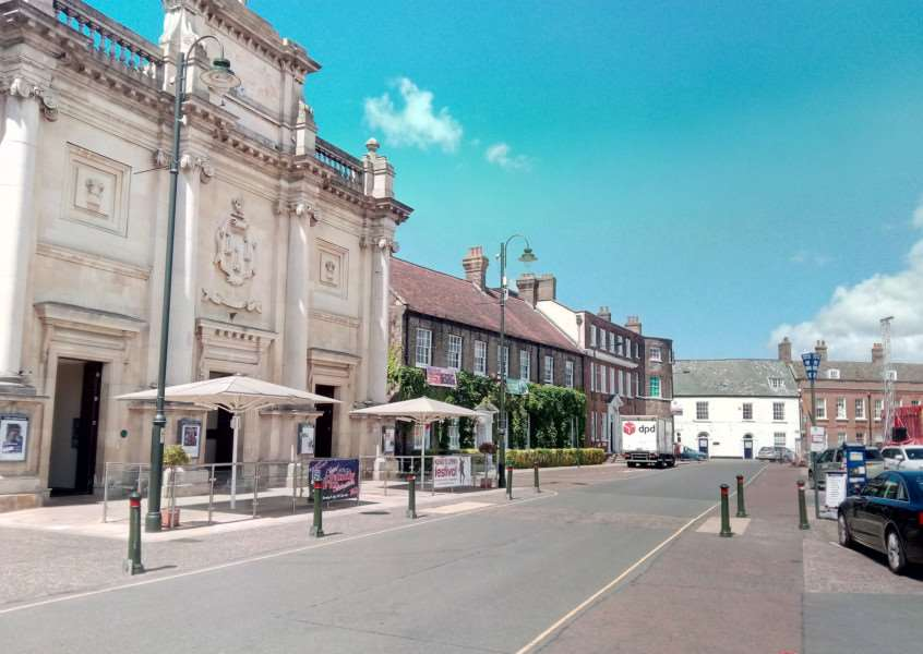 Tuesday Market Place in King's Lynn
