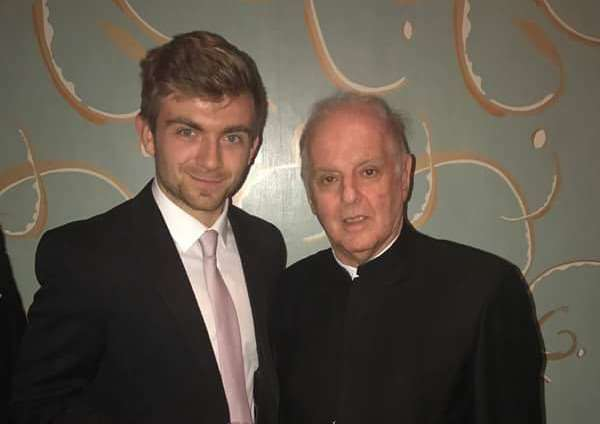 Ben Goldscheider and Daniel Barenboim
